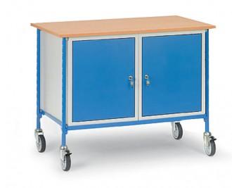 Table servante sur roues pivotantes charge 150 kg - Devis sur Techni-Contact.com - 4