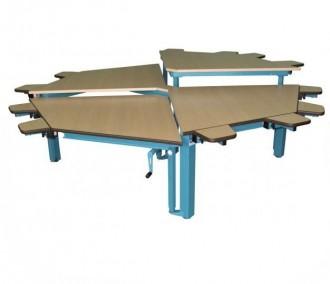Table Spécial Multi-HV Octogonale - Devis sur Techni-Contact.com - 1