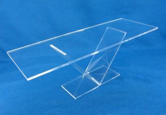 Support de présentation transparent Plexiglas, verre acrylique - Devis sur Techni-Contact.com - 1