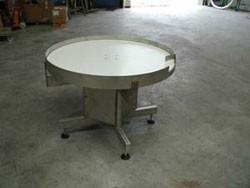 Table tournante d'accumulation carrée ou ronde - Devis sur Techni-Contact.com - 1