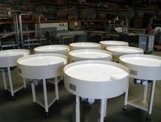 Table tournante d'accumulation carrée ou ronde - Devis sur Techni-Contact.com - 3