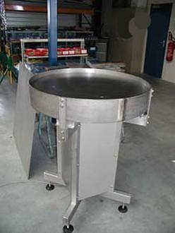 Table tournante d'accumulation carrée ou ronde - Devis sur Techni-Contact.com - 4