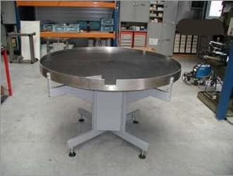 Table tournante d'accumulation carrée ou ronde - Devis sur Techni-Contact.com - 5