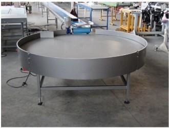 Table tournante diamètre 1500 mm - Devis sur Techni-Contact.com - 1