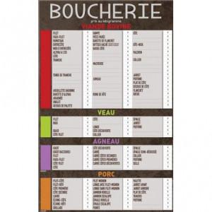 Tableau affichage prix boucherie - Devis sur Techni-Contact.com - 1