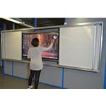 Tableau blanc coulissant - Devis sur Techni-Contact.com - 3