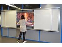 Tableau blanc coulissant - Devis sur Techni-Contact.com - 6