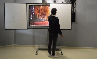 Tableau blanc écran interactif Pivotants - Devis sur Techni-Contact.com - 4