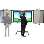 Tableau Blanc pivotant pour écran interactif - Devis sur Techni-Contact.com - 1