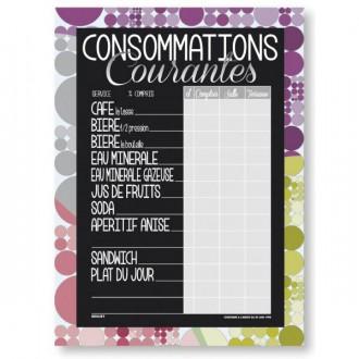 Tableau de tarif consommations - Devis sur Techni-Contact.com - 2