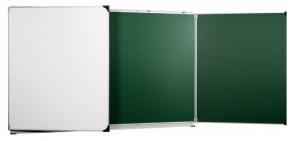 Tableaux scolaire triptyque blanc et vert - Devis sur Techni-Contact.com - 1
