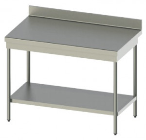 Tables avec inox 304 avec profondeur de 600 mm ou 700 mm en 10/10ème - Devis sur Techni-Contact.com - 1