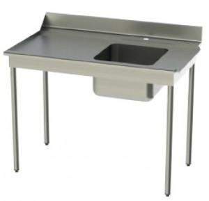 Tables d'entrée en inox brossé 304 - Devis sur Techni-Contact.com - 1