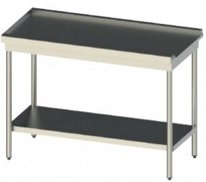Tables de sortie en inox avec pieds carrés - Devis sur Techni-Contact.com - 1