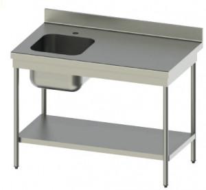Tables du chef en inox 441 avec une profondeur de 600 mm - Devis sur Techni-Contact.com - 1