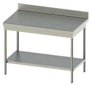 Tables en inox 441 avec profondeur de 600 mm ou 700 mm en 15/10ème - Devis sur Techni-Contact.com - 1
