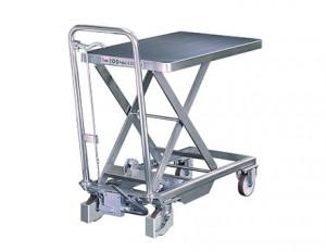 Tables hydrauliques mobiles en inox - Devis sur Techni-Contact.com - 1