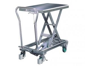 Tables hydrauliques mobiles en inox - Devis sur Techni-Contact.com - 2