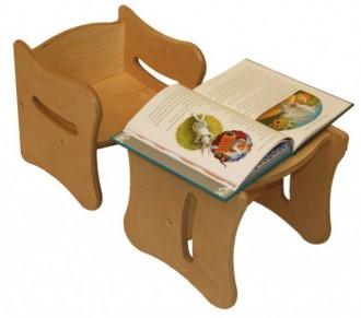Tabouret bois pour enfants - Devis sur Techni-Contact.com - 1