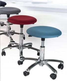 Tabouret d'atelier ergonomique rembourré - Devis sur Techni-Contact.com - 2