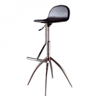 Tabouret de bar en acier chromé - Devis sur Techni-Contact.com - 1