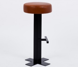 Tabouret de bar en cuir - Devis sur Techni-Contact.com - 2