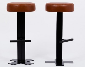 Tabouret de bar en cuir - Devis sur Techni-Contact.com - 4