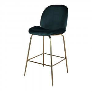 Tabouret de bar en velours - Devis sur Techni-Contact.com - 2