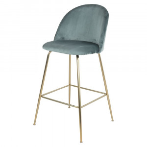 Tabouret de bar en velours - Devis sur Techni-Contact.com - 3