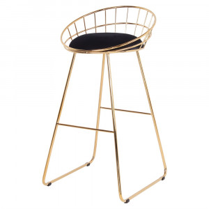 Tabouret de bar en velours - Devis sur Techni-Contact.com - 4