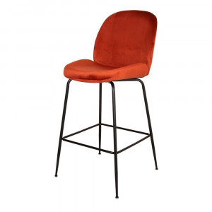 Tabouret de bar en velours - Devis sur Techni-Contact.com - 5