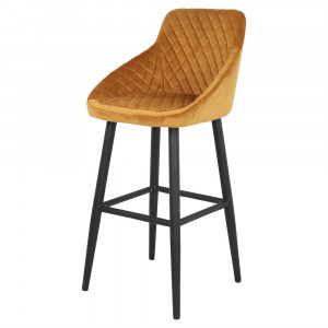 Tabouret de bar en velours - Devis sur Techni-Contact.com - 6