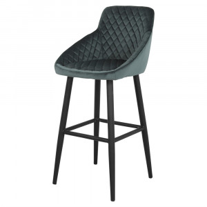 Tabouret de bar en velours - Devis sur Techni-Contact.com - 7