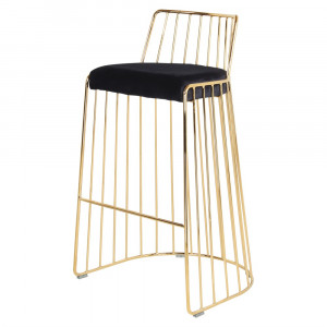 Tabouret de bar en velours - Devis sur Techni-Contact.com - 8