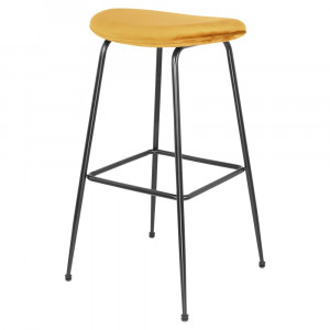 Tabouret de bar en velours - Devis sur Techni-Contact.com - 9