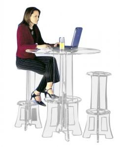 Tabouret de bar plexiglas - Devis sur Techni-Contact.com - 3