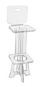 Tabouret de bar plexiglas - Devis sur Techni-Contact.com - 8