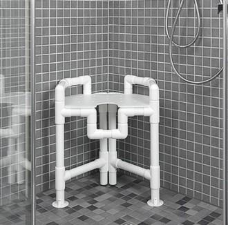 Tabouret de douche 615 x 570 - Devis sur Techni-Contact.com - 1