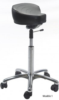 Tabouret ergonomique réglable avec selle - Devis sur Techni-Contact.com - 1