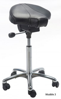 Tabouret ergonomique réglable avec selle - Devis sur Techni-Contact.com - 3