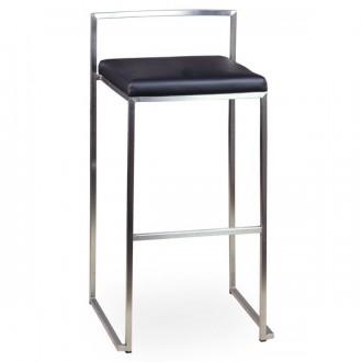 Tabouret haut assise en simili cuir - Devis sur Techni-Contact.com - 2
