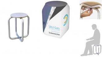 Tabouret personnalisable - Devis sur Techni-Contact.com - 1