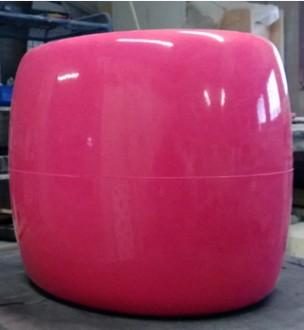 Tabouret pouf en polyester - Devis sur Techni-Contact.com - 2