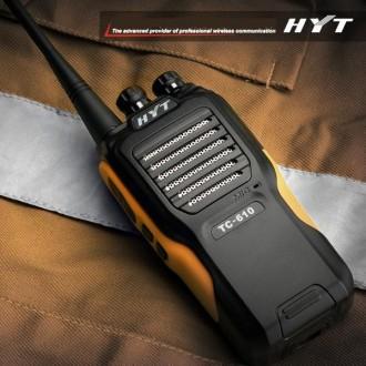 Talkie-Walkie HYT TC 610 PRO - Devis sur Techni-Contact.com - 1
