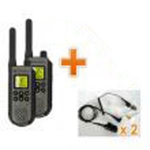 Talkie-Walkie Motorola avec oreillettes - Devis sur Techni-Contact.com - 1