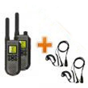 Talkie-Walkie Motorola T7 + Oreillettes micro écouteur confort - Devis sur Techni-Contact.com - 1