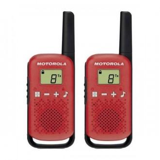 Talkie walkie Motorola TLKR T42 - Rouge - Devis sur Techni-Contact.com - 1