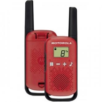 Talkie walkie Motorola TLKR T42 - Rouge - Devis sur Techni-Contact.com - 2