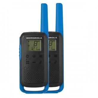 Talkie walkie Motorola TLKR T62 - Bleu - Devis sur Techni-Contact.com - 1
