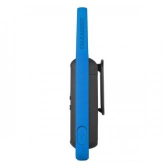 Talkie walkie Motorola TLKR T62 - Bleu - Devis sur Techni-Contact.com - 4
